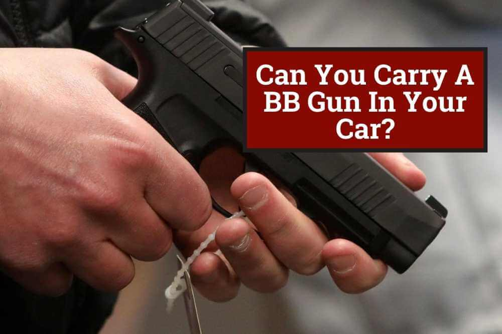 Can You Carry A BB Gun In Your Car