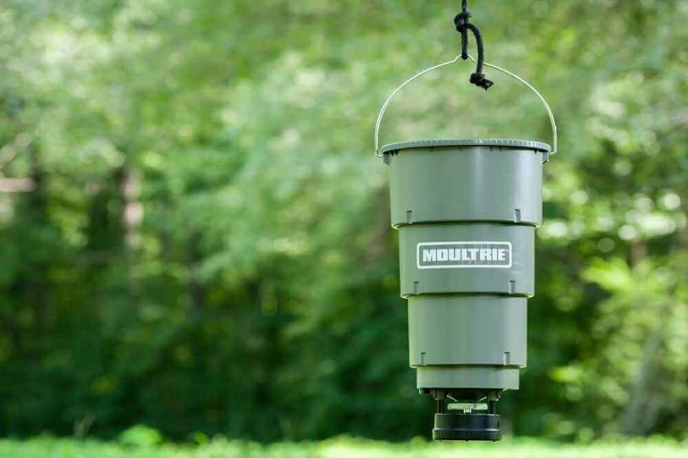 how to build a hanging deer feeder